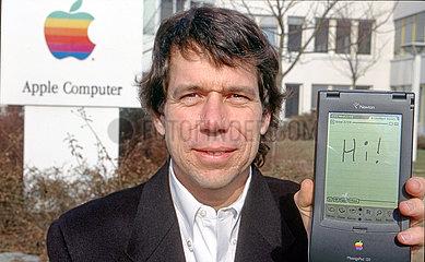 Steve Capps  Apple Designer  Erfinder des Apple Newton  1995