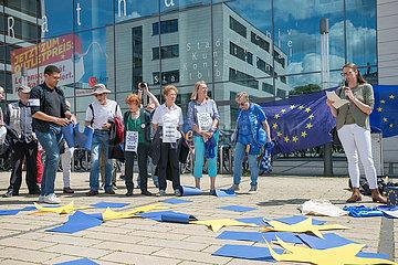 Pulse of Europe  Omas gegen Rechts - Demonstration