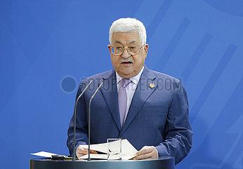 Bundeskanzleramt Treffen Merkel Abbas