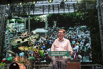 Gergely Karácsony - Oppositioneller Bürgermeisterkandidat Budapest | Gergely Karácsony - Opposition Mayor candidate Budapest