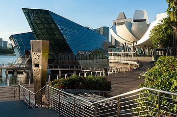Singapur  Republik Singapur  Louis Vuitton Island Maison am Marina Bay Sands