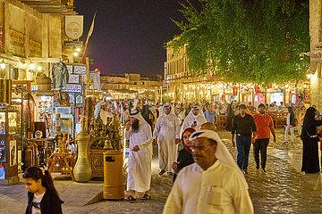 Qatar Altstadt