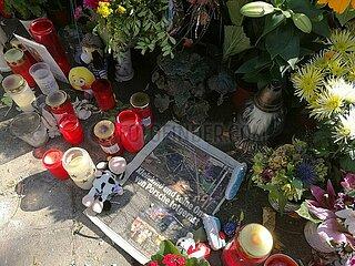 Unglueckstelle nach SUV-Unfall mit 4 Toten