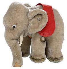 Elefant Jumbo  original Steiff-Tier  1967
