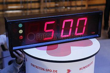 SPD Casting SPD-Regionalkonferenz zum Parteivorsitz   Willy Brandt Haus