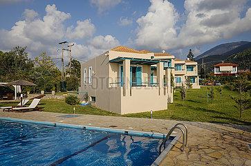 Hotel mit Pool  Kyparissia  Messenien  Peloponnes  Griechenland