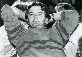 Joschka Fischer  MdB Die Gruenen  1985
