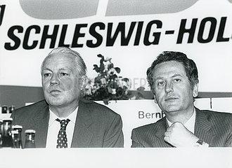 Uwe Barschel  Gerhard Stoltenberg  CDU-Parteitag  1985