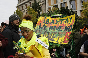 Basta we have not Planet B. Demonstration in Berlin