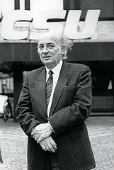 Hans-Wilhelm Ebeling  Leipziger Parrer  DDR  Besuch in Muenchen  1989