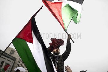 Palestinian demonstration Berlin