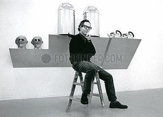 Haim Steinbach  Kuenstler  Ausstellung 1988