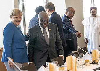 Merkel + Zuma