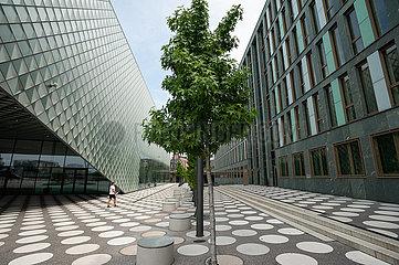 Berlin  Deutschland  Vorplatz am Futurium im Regierungsviertel in Berlin-Mitte