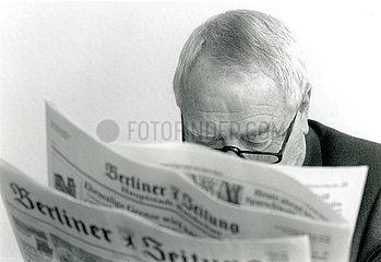 Erich Boehme  Herausgeber Berliner Zeitung  1992