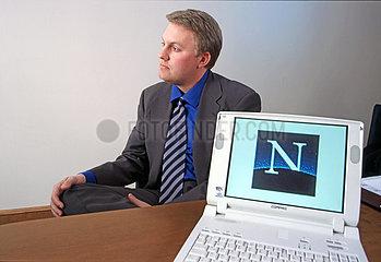 Marc Andreessen  Mitbegruender von Netscape  1997