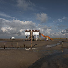 North-Sea Tidelands National Park - St. Peter-Ording Germany