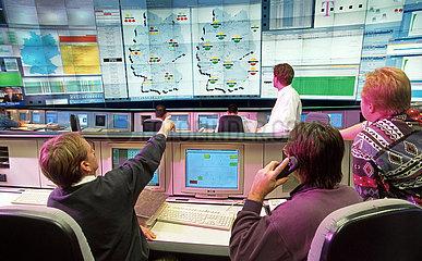 Deutsche Telekom  Network-Management-Center Bamberg  1998