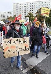 Demonstration für einen Mietendeckel