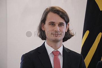 Verleihung des Verdienstordens der Bundesrepublik  Schloss Bellevue  2. Oktober 2019