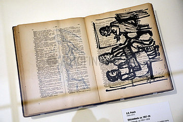 SKD A.R. Penck: Ich aber komme aus Dresden (check it out man  check it out)