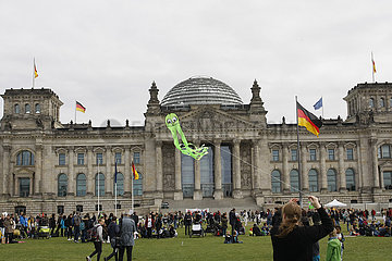 Klimastreik Demonstration in Berlin