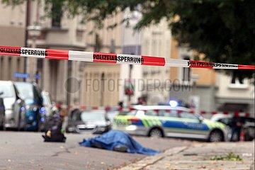Polizeieinsatz 09.10.2019 in Halle (Saale)