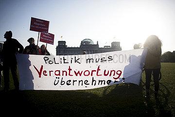 Climate Protest  Extinction Rebellion Berlin