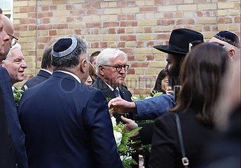 Steinmeier am 10.10.2019 in Halle