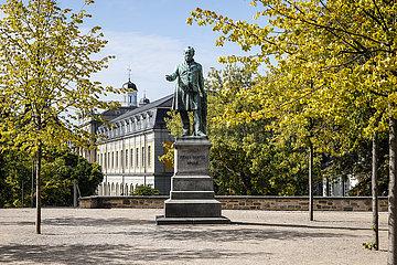 Ernst Moritz Arndt Denkmal  Alter Zoll  Bonn  Nordrhein-Westfalen  Deutschland