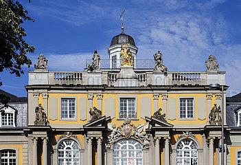 Koblenzer Tor  Wappen von Clemens August Herzog von Bayern  Bonn  Nordrhein-Westfalen  Deutschland