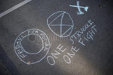 Street Art - Extinction Rebellion