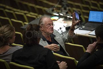 Deutsche Oper Berlin LA FORZA DEL DESTINO   Proben-Foto