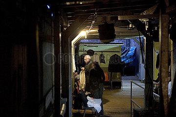 Bad Hersfelder Festspiele 2012 Kostuemvorbereitungen Backstage
