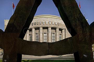Volksbuehne am Rosa-Luxemburg-Platz Berlin