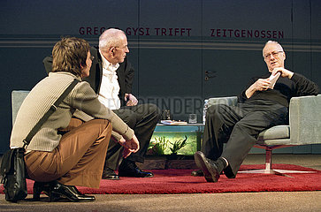 Deutsches Theater Berlin GREGOR GYSI TRIFFT PETER ZADEK   technische Einrichtung