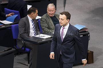 Sitzung des Deutschen Bundestages