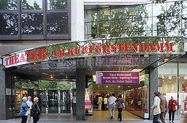 Theater am Kurfuerstendamm Berlin
