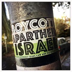 Sign Boycott Apartheid Israel