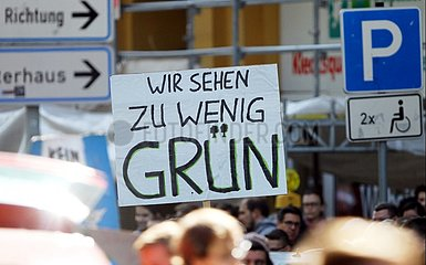 Protest von Fridays-For-Future