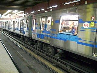 Metro von Santiago de Chile