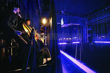 Rundfunk-Sinfonieorchester Berlin FICHTEN. FUER GROSSES ORCHESTER UND RAUMINSTALLATION