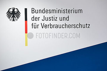 Berlin  Deutschland - Logo Bundesministerium der Justiz und fuer Verbraucherschutz.