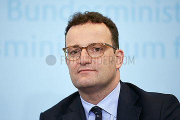 Berlin  Deutschland - Jens Spahn  Bundesgesundheitsminister.