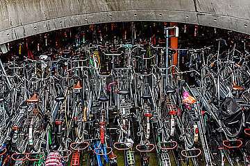 Bicycle stand_Gronningen_Holland