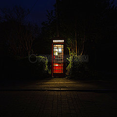 Englische Telefonzelle