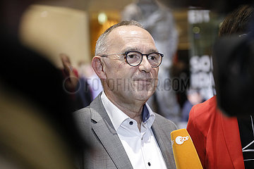 SPD - Feierliche Verkuendigung der Ergebnisse der Mitgliederbefragung zur Wahl des neuen Parteivorsitzes
