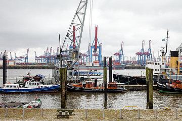 Museumshafen Oevelgoenne im Hamburger Hafen