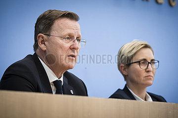 DIE LINKE Landtagswahlen in Thueringen