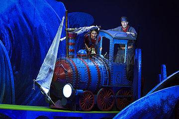 Komische Oper JIM KNOPF UND LUKAS DER LOKOMOTIVFUEHRER
